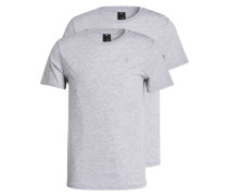 2er-Pack T-Shirts Regular-Fit