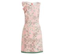 Kleid - rosé/ grün