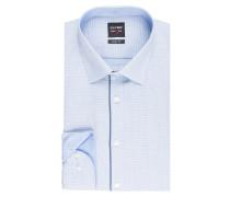 Hemd Level Five body fit - hellblau/ blau