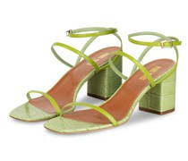 Sandaletten MARIA - HELLGRÜN
