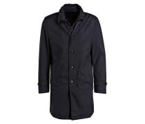 Mantel mit abnehmbarer Blende - dunkelblau