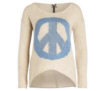 Pullover BEVERLY - beige/ hellblau