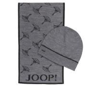 Set: Schal und Mütze SEAN - grau