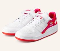 Sneaker FORUM LOW - WEISS/ ROT