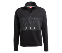 Sweatshirt AIR FLEECE - schwarz/ anthrazit