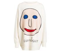 Pullover FACE JUMPER - ecru