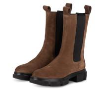 Chelsea-Boots CROSTA - HELLBRAUN