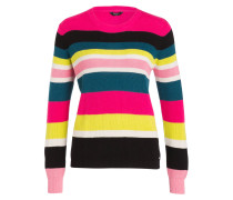 Pullover ANTIA - pink/ schwarz/ petrol