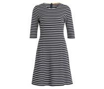 Kleid DRESSIE - navy/ weiss gestreift