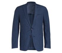 Jerseysakko Slim-Fit - blau