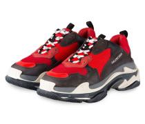 Sneaker TRIPLE S - ROT/ SCHWARZ/ GRAU