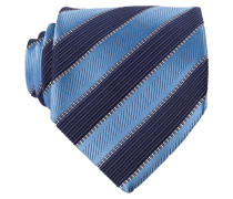 Krawatte - blau/hellblau