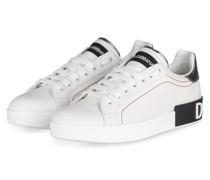 Sneaker PORTOFINO - WEISS/ SCHWARZ