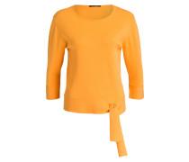 Pullover mit 3/4-Arm - orange