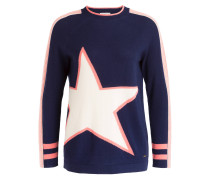 Pullover HAZEL - dunkelblau/ rosé