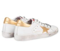 Sneaker SUPERSTAR - weiss/ gold