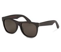 Sonnenbrille CLASSIC - schwarz matt