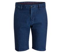 Jeans-Bermudas HENDRIX-W Slim-Fit - blau