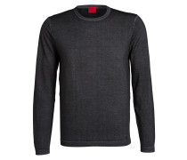 Pullover Level Five Casual body fit aus Schurwolle