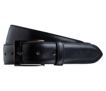 Ledergürtel - schwarz