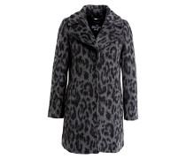 Mantel KATE - schwarz/ grau