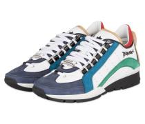 Sneaker - weiss/ blau/ grün