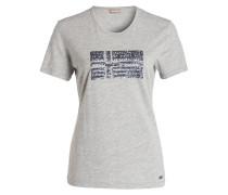 T-Shirt SEVILLA mit Pailletten - grau