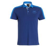 Piqué-Poloshirt - blau/ marine