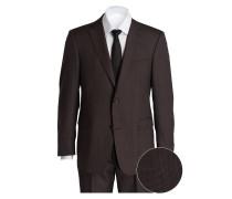Anzug Comfort-Fit - braun
