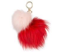 Taschenanhänger - bright red/ burnt red
