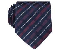 Krawatte - rot/ schwarz