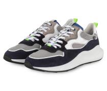Sneaker - WEISS/ DUNKELBLAU/ GRAU