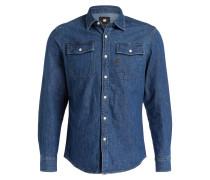 Jeanshemd LANDOH Slim-Fit - blau