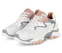 Sneaker ADDICT - WEISS/ GRAU/ ROSA