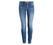 Skinny-Jeans CURVE X - blau