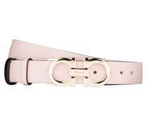 Wendegürtel - schwarz/ rosa