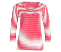 Shirt mit 3/4-Arm - pink/ offwhite