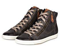 Hightop-Sneaker - graublau