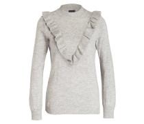 Pullover - hellgrau meliert