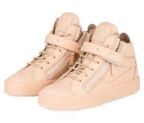 Hightop-Sneaker DAN - nude