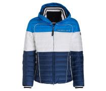 Skijacke PHILIP - blau/ weiss/ dunkelblau