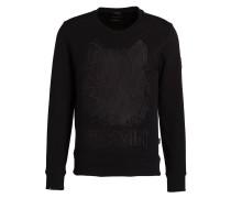 Sweatshirt BOOTHBHY mit monochromem Stitching