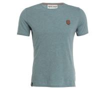 T-Shirt - grün meliert