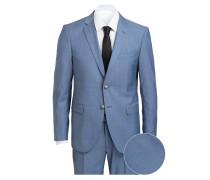 Anzug HERBY-BLAYR Slim-Fit - blau