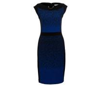 Etuikleid - schwarz/ blau