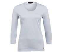 Shirt mit 3/4-Arm - hellblau
