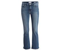 Cropped-Jeans - wasson wasson blau