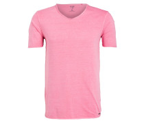 T-Shirt Level Five body fit - rosa