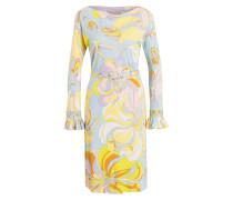 Kleid - hellblau/ hellrosa/ gelb