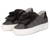 Plateau-Sneaker - schwarz / weiss